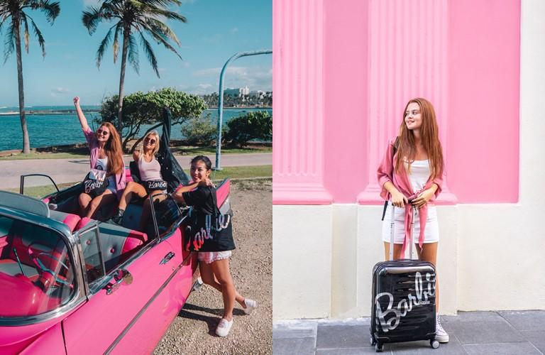 Коллекция аксессуаров Barbie x American Tourister 2019 - фото 1
