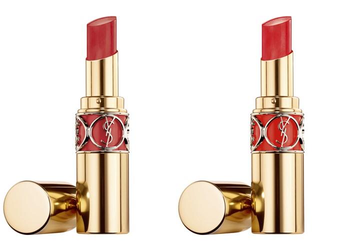 Новые средства для губ Volupté от Yves Saint Laurent - помада Rouge Volupté Shine