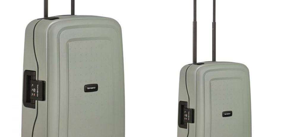 Samsonite выпускает первый в мире чемодан из переработанного полипропилена
