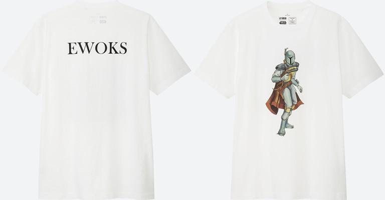 Коллекция футболок UNIQLO по мотивам «Звездных войн» - фото 2