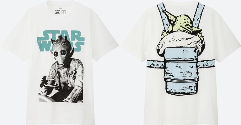 Коллекция футболок UNIQLO по мотивам «Звездных войн» - фото 4