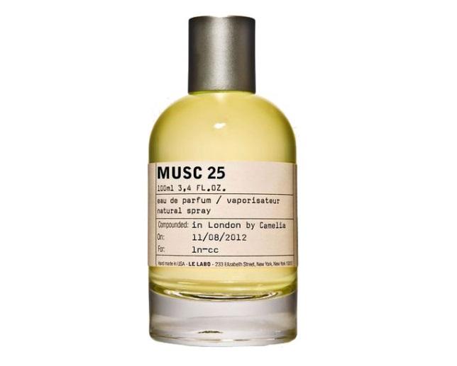 Духи с запахом мускуса: 20 женских ароматов - Musc 25 Los Angeles (Le Labo)