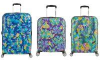 Коллекция чемоданов American Tourister WaveBreaker x Shanti Sparrow