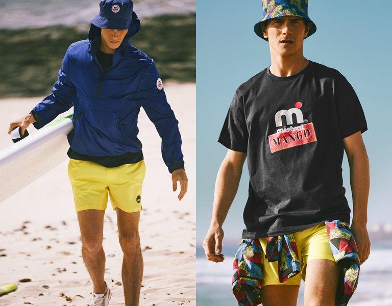 Mango Man и Mistral представляют мужскую коллекцию в стиле 90-х - фото 1