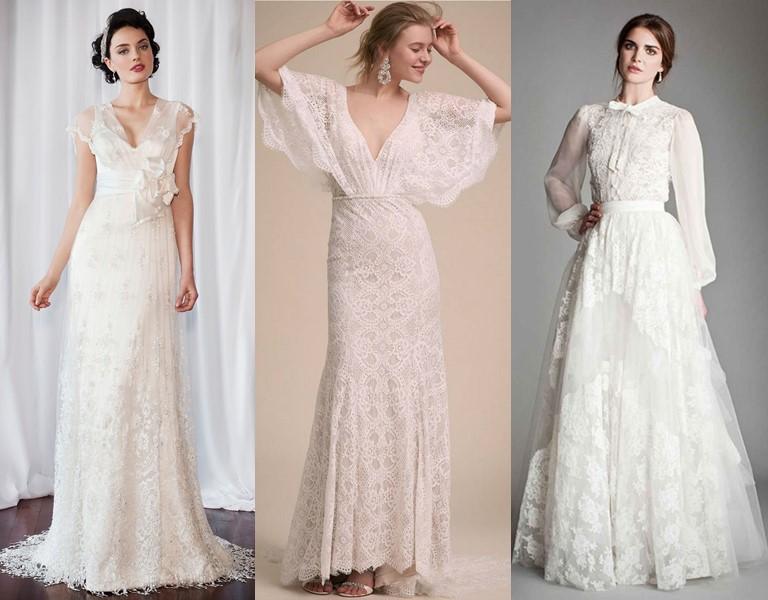 Новые и необычные тенденции свадебной моды 2019 - Подержанные и винтажные наряды