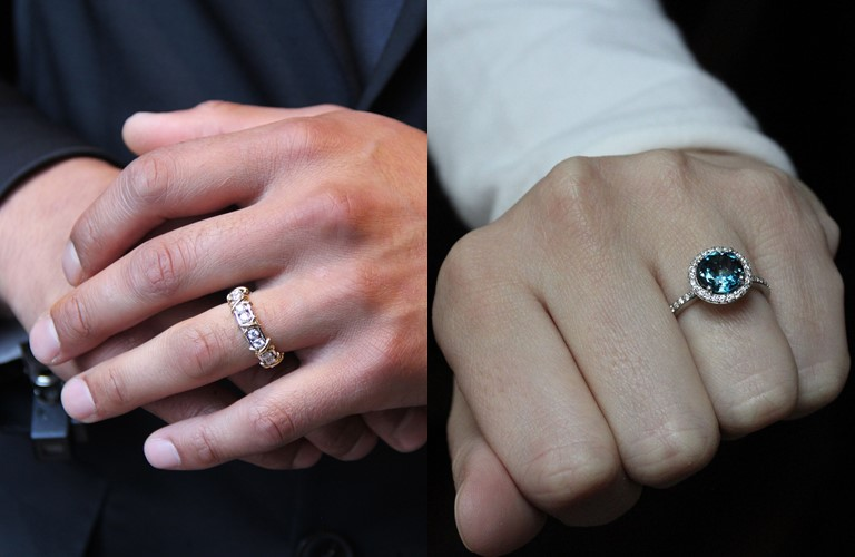 Новые и необычные тенденции свадебной моды 2019 - Мужские помолвочные кольца