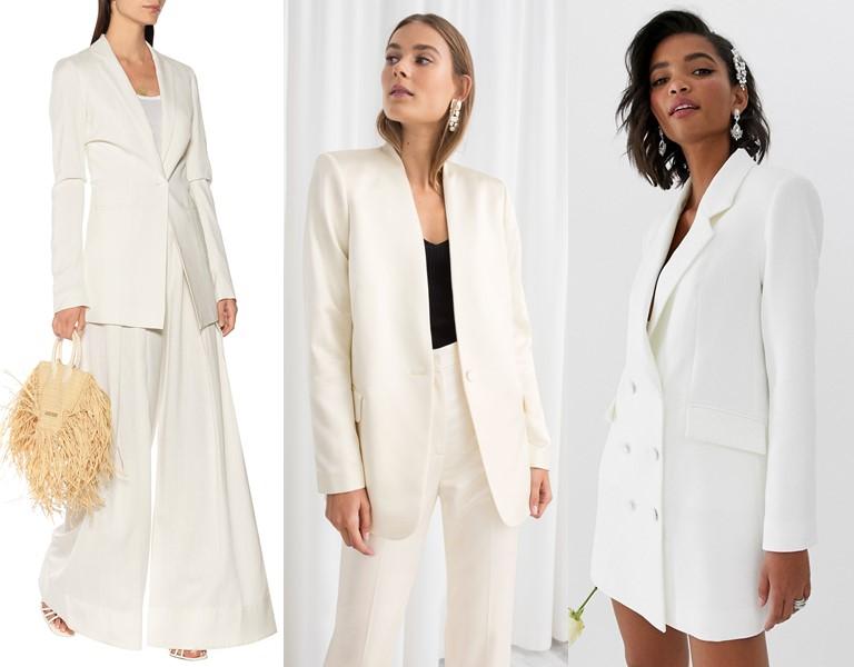 Новые и необычные тенденции свадебной моды 2019 - Свадебные блейзеры