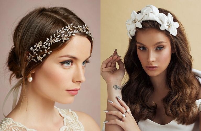 Новые и необычные тенденции свадебной моды 2019 - Яркие головные украшения