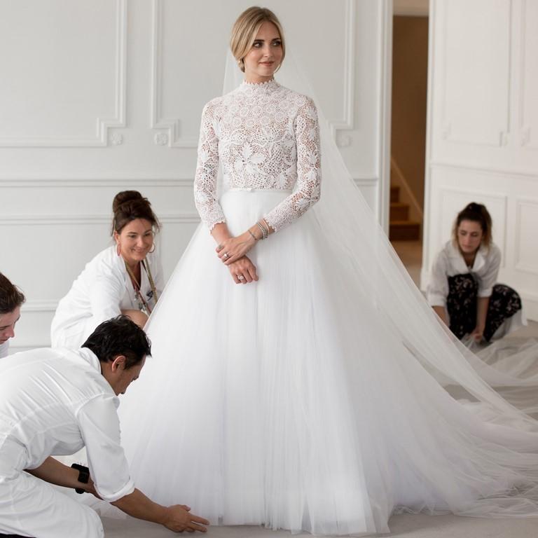 Новые законодатели свадебной моды 2019 - Кьяра Ферраньи