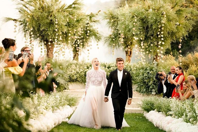 Новые законодатели свадебной моды 2019 - Кьяра Ферраньи и Федез