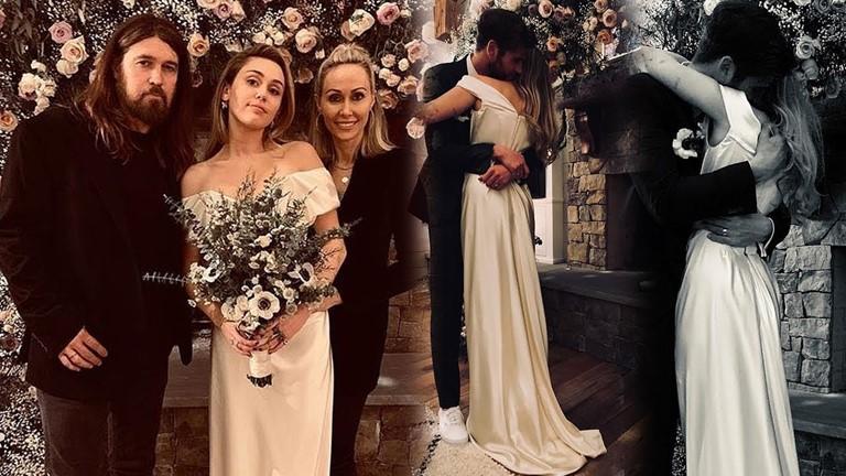 Новые законодатели свадебной моды 2019 - Майли Сайрус и Лиам Хемсворт