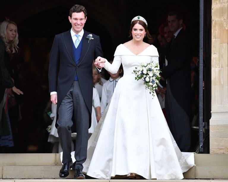 Новые законодатели свадебной моды 2019 - принцесса Евгения и Джек Бруксбэнк