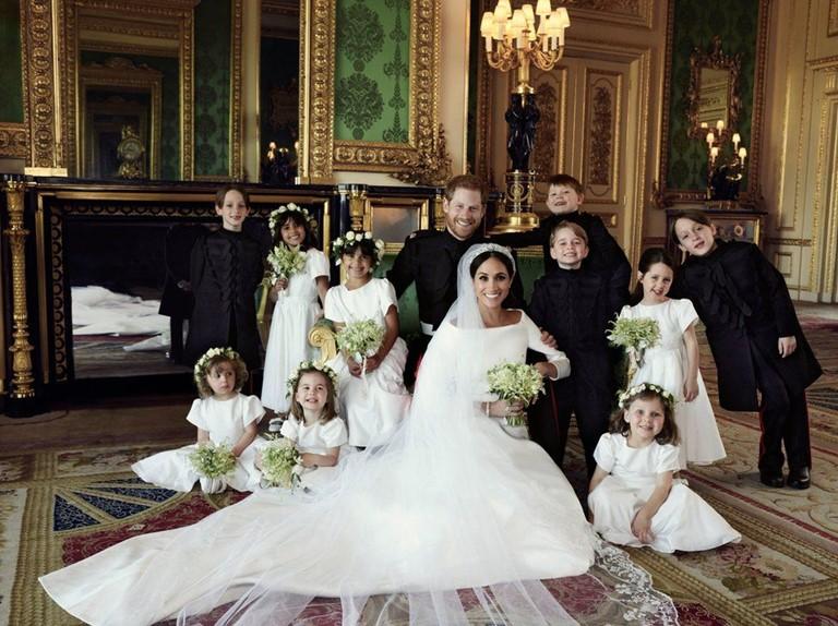 Новые законодатели свадебной моды 2019 - Гарри и Меган