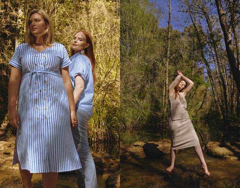 Рекламная кампания одежды для полных Violeta by Mango High Summer 2019 - фото 2