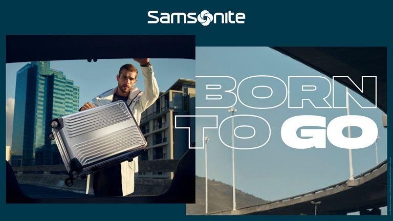 Samsonite представляет новую глобальную кампанию Born to Go - фото 1