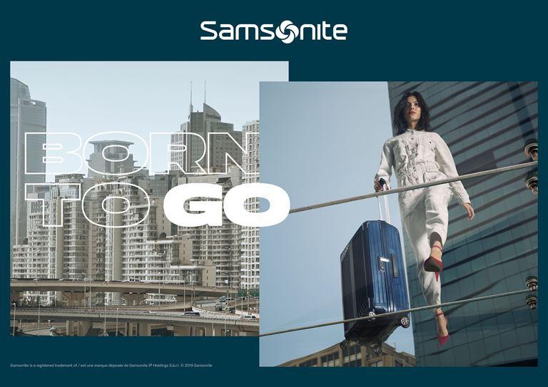 Samsonite представляет новую глобальную кампанию Born to Go - фото 2