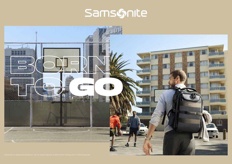 Samsonite представляет новую глобальную кампанию Born to Go - фото 3