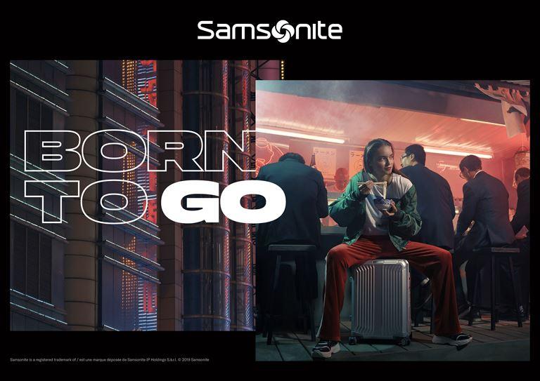 Samsonite представляет новую глобальную кампанию Born to Go - фото 4