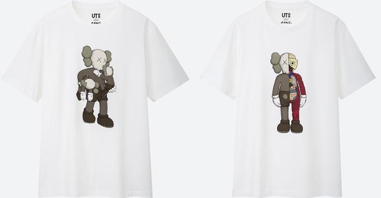 Коллекция футболок UNIQLO «KAWS: SUMMER» с принтами - фото 4