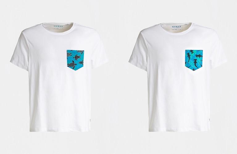 Коллекция мужской пляжной одежды от Guess и Эдуардо Болиоли - фото 2