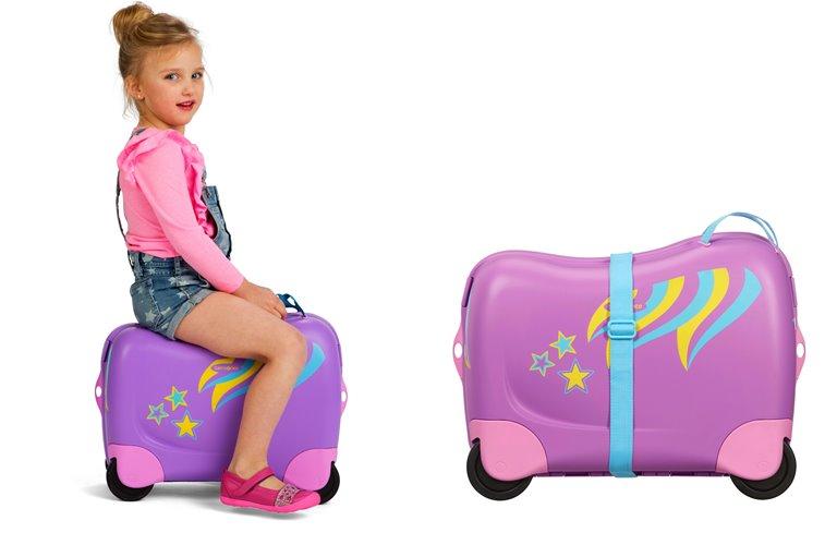 Детская коллекция чемоданов Samsonite Dreamrider 2019 - фото 1