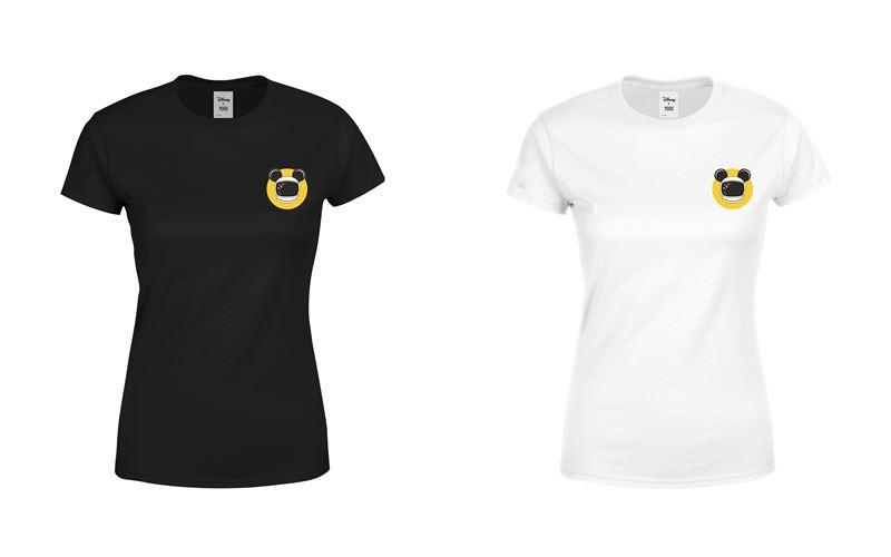 Минималистичные чёрные и белые футболки с Микки Маусом-космонавтом от Disney x YOOX - фото 3