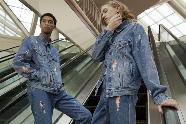 Футболки, толстовки, свитшоты, джинсы в коллекции Levi's x Stranger Things осень-зима 2019-2020 - фото 4