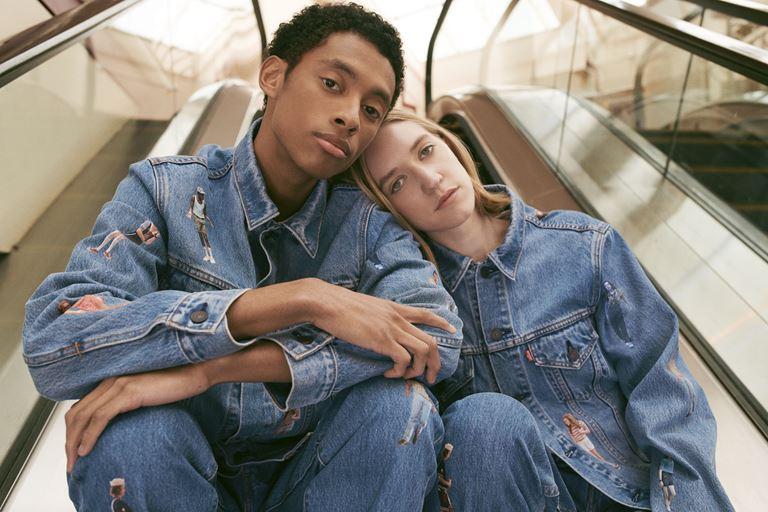 Футболки, толстовки, свитшоты, джинсы в коллекции Levi's x Stranger Things осень-зима 2019-2020 - фото 5