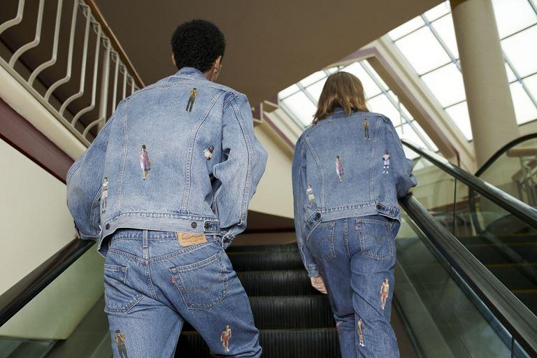 Футболки, толстовки, свитшоты, джинсы в коллекции Levi's x Stranger Things осень-зима 2019-2020 - фото 6