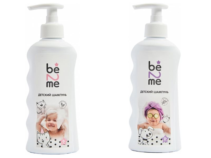 Косметика для малышей: что должно быть в детской косметичке - Детские шампуни Be2Me