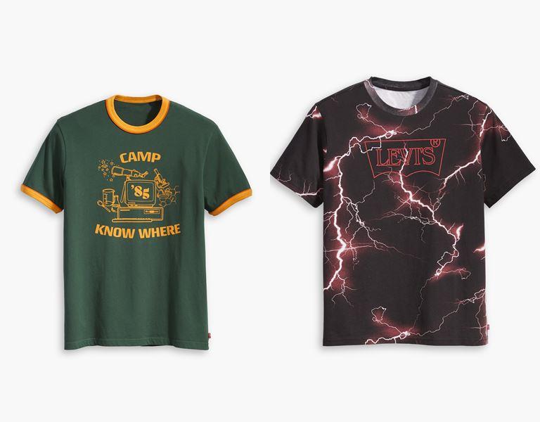Футболки, толстовки, свитшоты, джинсы в коллекции Levi's x Stranger Things осень-зима 2019-2020 - фото 11