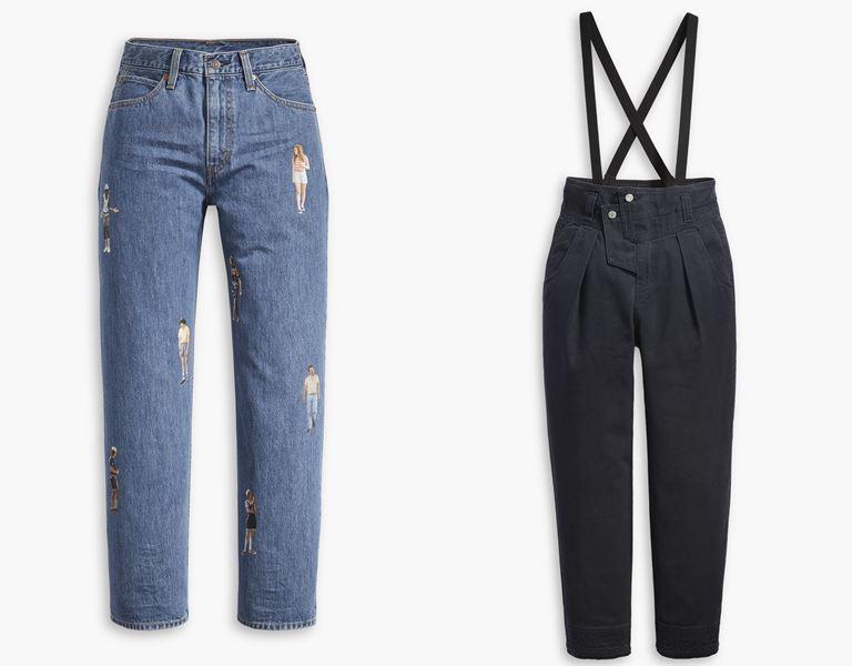 Футболки, толстовки, свитшоты, джинсы в коллекции Levi's x Stranger Things осень-зима 2019-2020 - фото 21