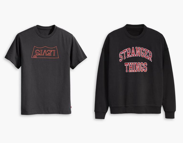 Футболки, толстовки, свитшоты, джинсы в коллекции Levi's x Stranger Things осень-зима 2019-2020 - фото 12