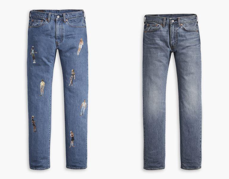 Футболки, толстовки, свитшоты, джинсы в коллекции Levi's x Stranger Things осень-зима 2019-2020 - фото 18