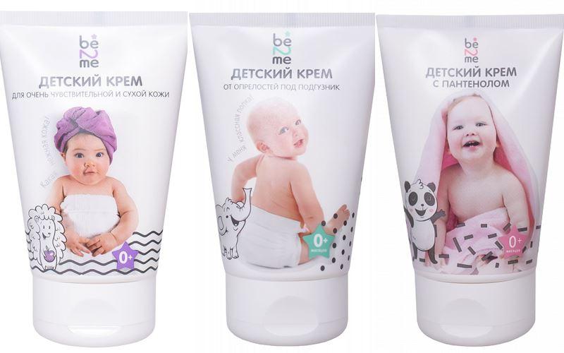 Косметика для малышей: что должно быть в детской косметичке - Детские кремы Be2Me