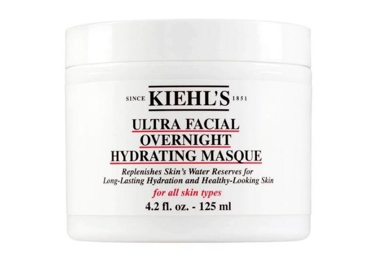 Маски Kiehl`s с натуральными компонентами для ухода за кожей лица - Ночная увлажняющая маска