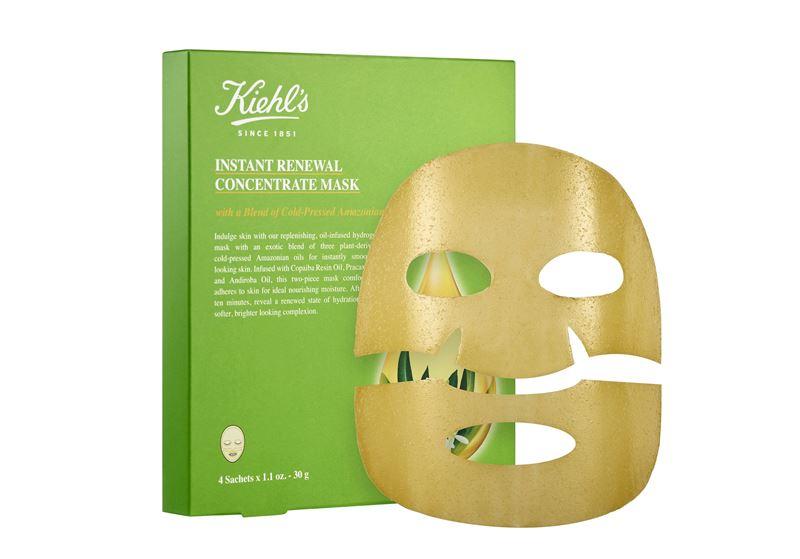 Маски Kiehl`s с натуральными компонентами для ухода за кожей лица - Маска-концентрат для мгновенного восстановления кожи