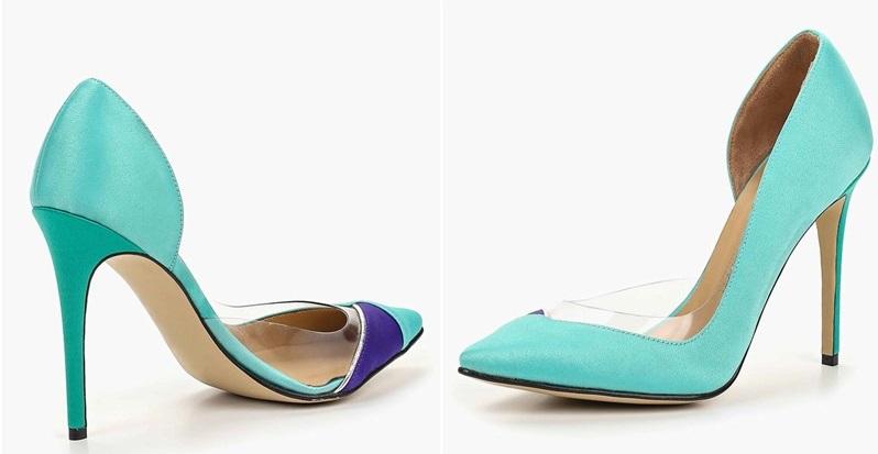 Бирюза и шпилька: Polina Magiy посвятила туфли российским пиарщицам - фото 1