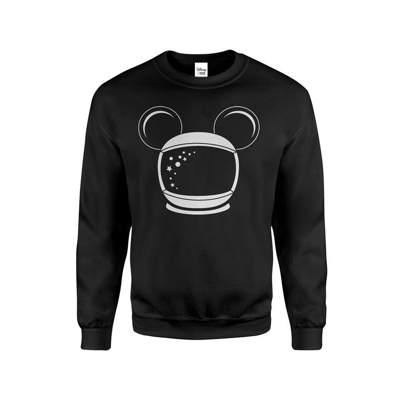 Минималистичные чёрные и белые футболки и свитшоты с Микки Маусом-космонавтом от Disney x YOOX уже в продаже