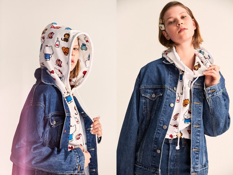 Коллекция Levi's® x Hello Kitty® осень-зима 2019-2020 - фото 12