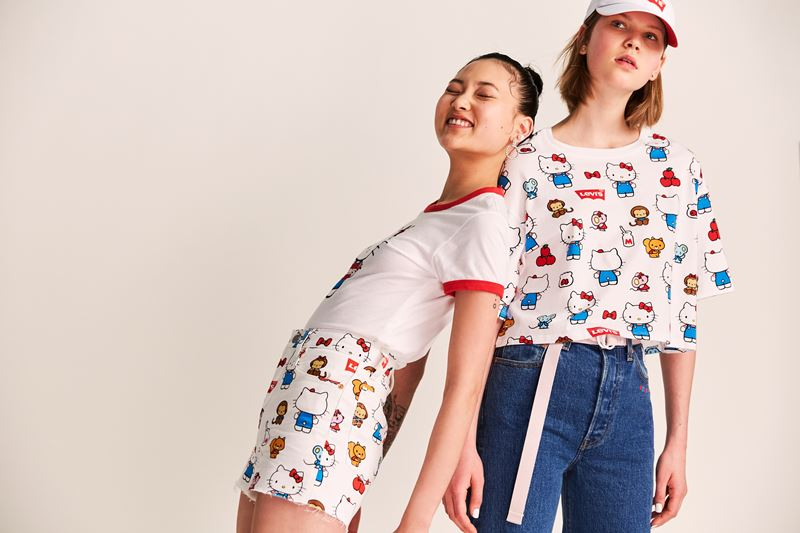 Коллекция Levi's® x Hello Kitty® осень-зима 2019-2020 - фото 3