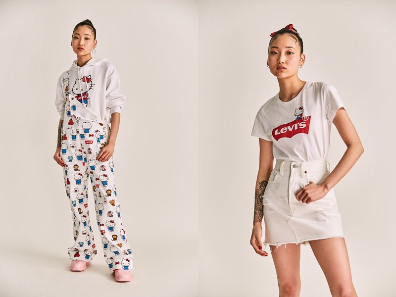 Коллекция Levi's® x Hello Kitty® осень-зима 2019-2020 - фото 5