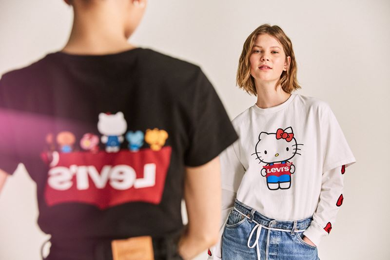 Коллекция Levi's® x Hello Kitty® осень-зима 2019-2020 - фото 1