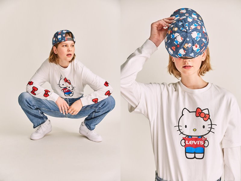 Коллекция Levi's® x Hello Kitty® осень-зима 2019-2020 - фото 6