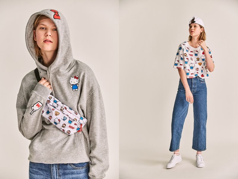 Коллекция Levi's® x Hello Kitty® осень-зима 2019-2020 - фото 7
