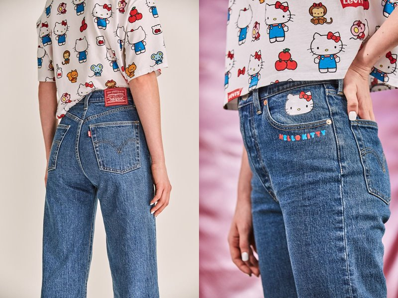 Коллекция Levi's® x Hello Kitty® осень-зима 2019-2020 - фото 8