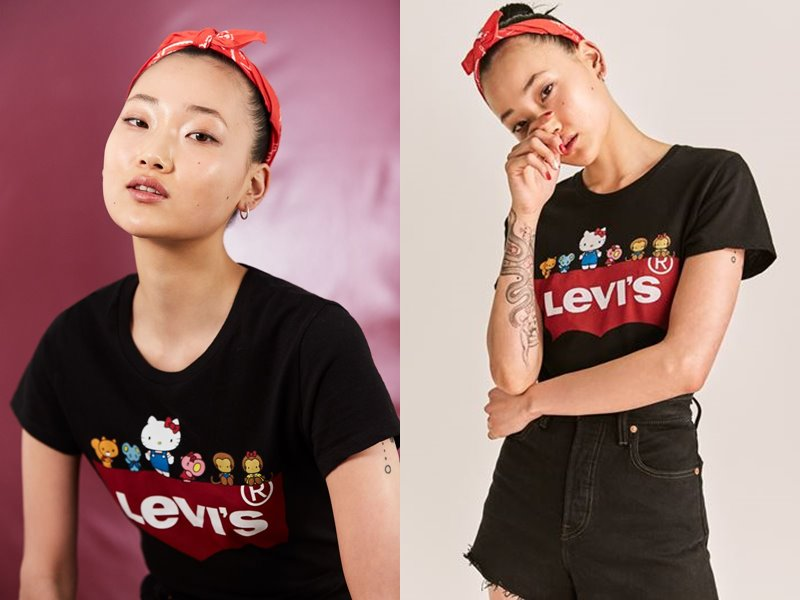 Коллекция Levi's® x Hello Kitty® осень-зима 2019-2020 - фото 9