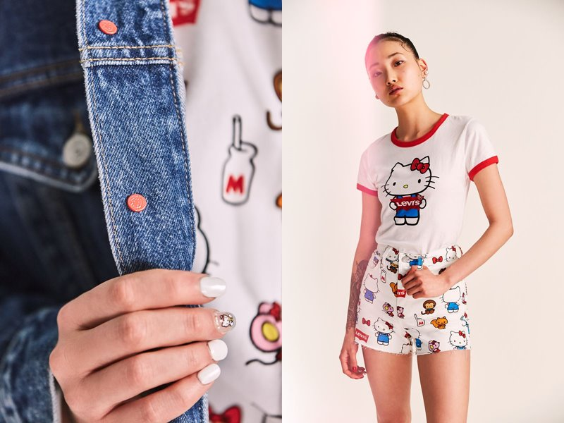Коллекция Levi's® x Hello Kitty® осень-зима 2019-2020 - фото 10