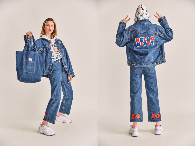 Коллекция Levi's® x Hello Kitty® осень-зима 2019-2020 - фото 11