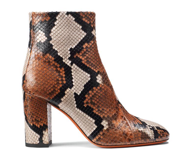 Обувь из кожи питона в коллекции Santoni осень-зима 2019-2020  - фото 1